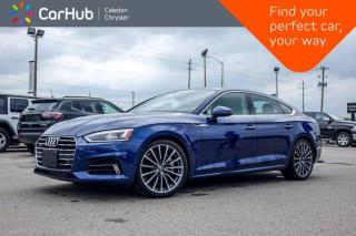Used 2018 Audi A5 Sportback Technik Quattro Navi Sunroof Bluetooth Backup Camera Heat Front Seats 18