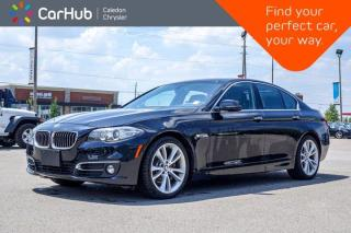 Used 2015 BMW 5 Series 535d xDrive Diesel Navigation Sunroof Backup camera Bluetooth Leather 19