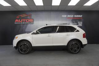 Used 2014 Ford Edge SEL AWD CUIR TOIT PANO GPS NAV 20 POUCE 124 110 KM for sale in Lévis, QC