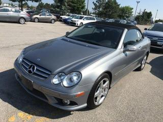 Used 2009 Mercedes-Benz CLK350 3.5L-AMG PKG-LOW KM-CLEAN-CANADIAN VEHICLE for sale in Tilbury, ON