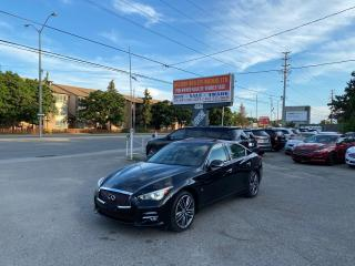 Used 2015 Infiniti Q50 Sport for sale in Toronto, ON