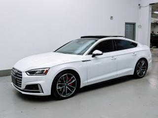 Used 2018 Audi S5 Sportback S 5 SPORTBACK/TECHNIK/HEADS UP DISPLAY/ B&O SOUND/DRIVER ASSISTANCE! for sale in Toronto, ON