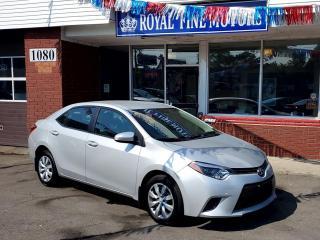 Used 2016 Toyota Corolla LEEcoPremium for sale in Toronto, ON