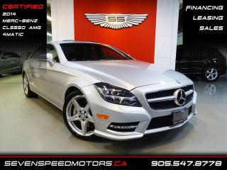 Used 2014 Mercedes-Benz CLS-Class CLS550 4MATIC   CERTIFIED   AMG   FINANCE @ 4.65% for sale in Oakville, ON