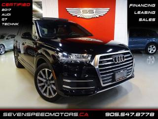 Used 2017 Audi Q7 Q7 7PASS | TECHNIK | CERTIFIED | NAVI | FINANCE @4.65% for sale in Oakville, ON