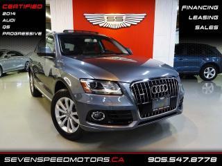 Used 2014 Audi Q5 Q5 | PROGRESSIVE | QUATTRO | CERTIFIED | FINANCE @ 4.65% for sale in Oakville, ON