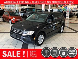 Used 2019 Volkswagen Tiguan Trendline 4MOTION - Accident Free / Local for sale in Richmond, BC