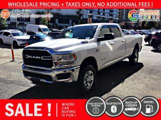 Used 2019 RAM 2500 Big Horn Cummins - Local / No Accident for sale in Richmond, BC