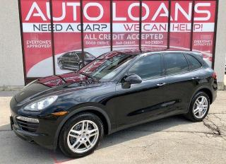 Used 2013 Porsche Cayenne ALL CREDIT ACCEPTED for sale in Scarborough, ON