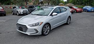 Used 2017 Hyundai Elantra GLS for sale in Cornwall, ON