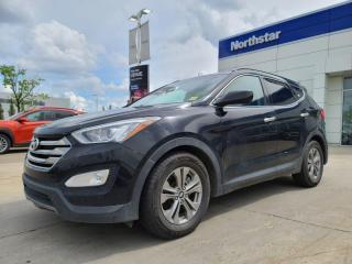 Used 2016 Hyundai Santa Fe Sport PREMIUM/AWD/HEATEDSTEERINGANDSEATS/POWERSEAT/DUALCLIMATE for sale in Edmonton, AB