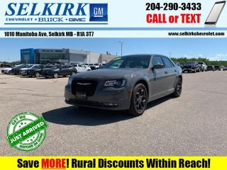 Used 2019 Chrysler 300 S  - Leather Seats -  Apple CarPlay for sale in Selkirk, MB