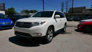 Used 2013 Toyota Highlander LIMITED  for sale in Winnipeg, MB