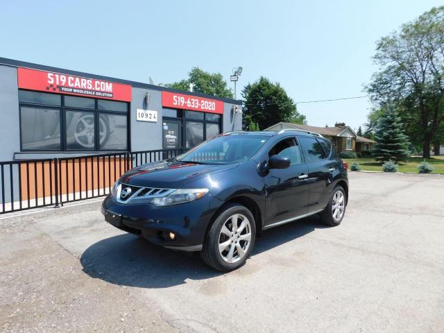 2012 Nissan Murano PLATINUM|NAVI|DUAL ROOF|LEATHER|BACKUP CAMERA