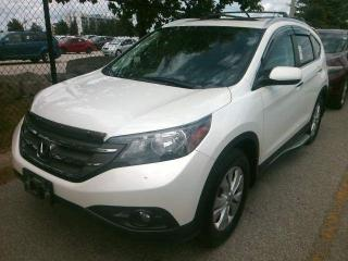Used 2013 Honda CR-V Touring for sale in Waterloo, ON