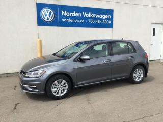 New 2019 Volkswagen Golf Comfortline 4dr FWD Hatchback for sale in Edmonton, AB