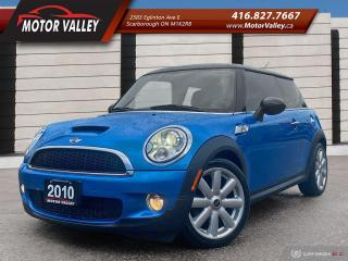 Used 2010 MINI Cooper S 6MT Clean Car! for sale in Scarborough, ON