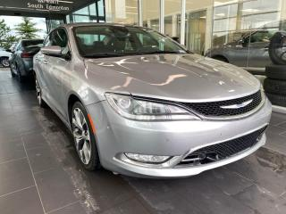 Used 2015 Chrysler 200 C, AWD, ONE OWNER, MEMORY SEATS, SKYROOF, ACTIVE CRUISE for sale in Edmonton, AB