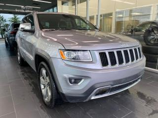 Used 2015 Jeep Grand Cherokee Limited, AWD, ACCIDENT FREE, HEATED STEERING WHEEL/LEATHER SEATS, REAR VIEW CAMERA, SUNROOF for sale in Edmonton, AB