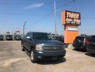 Used 2008 Chevrolet Silverado 1500 LTZ**LEATHER**DVD**ONLY 187KM**4X4**CERTIFIED for sale in London, ON