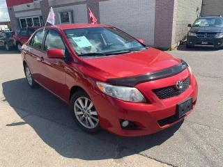 Used 2010 Toyota Corolla LE for sale in Toronto, ON