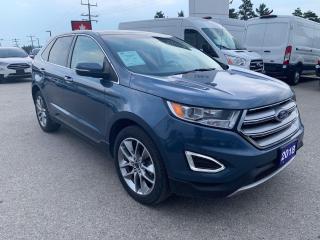 Used 2018 Ford Edge Titanium | Bluetooth | Heated Steering Wheel for sale in Harriston, ON