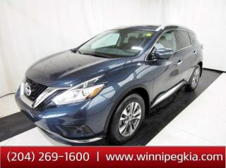 Used 2015 Nissan Murano SL *Accident Free! Fully Loaded* for sale in Winnipeg, MB