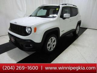 Used 2017 Jeep Renegade Limited for sale in Winnipeg, MB