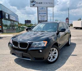 Used 2013 BMW X3 xDrive28i | HEATED SEATS | REAR CAMERA | PANO SUNROOF | for sale in Barrie, ON