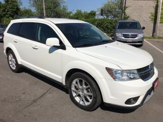 Used 2013 Dodge Journey Crew ** 7 PASS, BACK CAM, HTD SEATS ** for sale in St Catharines, ON