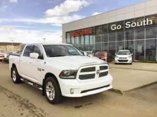 Used 2017 RAM 1500 5.7L, SPORT, CREW CAB, 4X4, NAVIGATION for sale in Edmonton, AB
