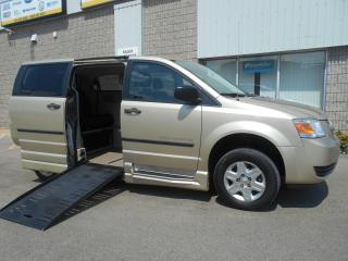 Used 2010 Dodge Grand Caravan SE-Wheelchair Accessible Side Entry-Manual for sale in London, ON
