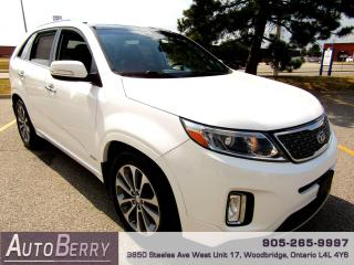 Used 2014 Kia Sorento SX - AWD - NAVI - B/Up Cam for sale in Woodbridge, ON