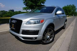 Used 2009 Audi Q7 S-LINE 4.2 / NO ACCIDENTS / DEALER SERVICED for sale in Etobicoke, ON
