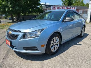 Used 2012 Chevrolet Cruze Automatic/Bluetooth/Gas Saver/Come Certified for sale in Scarborough, ON