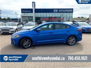 Used 2017 Hyundai Elantra GLS/BLIND SPOT DETEC/BACKUP CAM/HEATED WHEEL for sale in Edmonton, AB