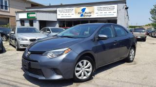 Used 2016 Toyota Corolla LE w/Backup Cam for sale in Etobicoke, ON