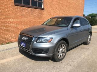 Used 2011 Audi Q5 2.0L Premium Plus, NOT Certified for sale in Oakville, ON