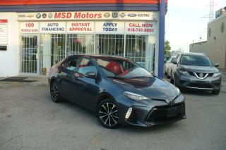 Used 2018 Toyota Corolla SE ONE OWNER LOW KM for sale in Toronto, ON