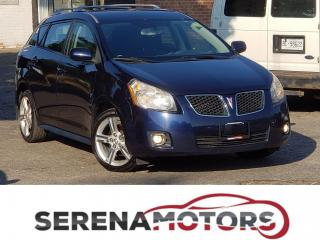 Used 2009 Pontiac Vibe SPORT PKG | MANUAL | ONEOWNER | NO ACCIDENTS for sale in Mississauga, ON