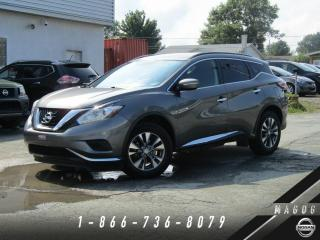 Used 2015 Nissan Murano S 2RM + NAVI + BLUETOOTH + CAMÉRA + A/C! for sale in Magog, QC