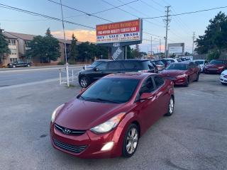 Used 2011 Hyundai Elantra Limited w/Nav for sale in Toronto, ON