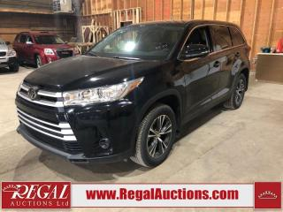 Used 2019 Toyota Highlander LE 4D Utility AWD for sale in Calgary, AB