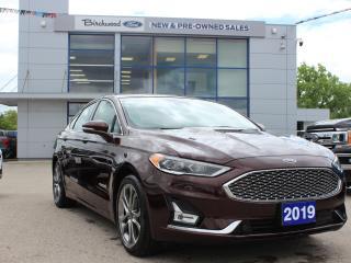 Used 2019 Ford Fusion Hybrid Titanium NAV | ROOF | BLIS for sale in Winnipeg, MB