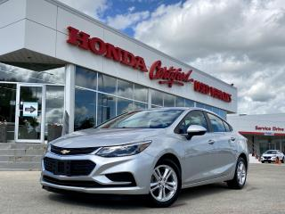 Used 2016 Chevrolet Cruze LT TURBO | NO ACCIDENTS for sale in Winnipeg, MB