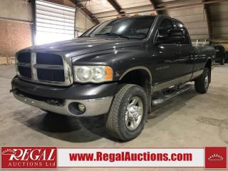 Used 2004 Dodge Ram 3500 SLT 4D Quad CAB 4WD for sale in Calgary, AB