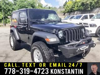 Used 2018 Jeep Wrangler Sport S LIFT KIT! WHEELS   TIRES! AUDIO EQUIPMENT! for sale in Maple Ridge, BC