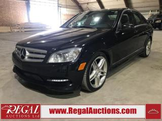 Used 2011 Mercedes-Benz C-Class C350 4D Sedan 4MATIC AWD for sale in Calgary, AB