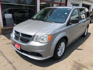 Used 2013 Dodge Grand Caravan SXT for sale in Hamilton, ON
