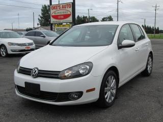 Used 2013 Volkswagen Golf 2.0L TDI w/Tech Package 4 Door for sale in Alvinston, ON